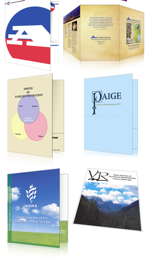 Pocket Folder Samples